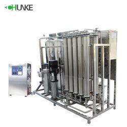 Beber agua mineral RO la planta de purificación de maquinaria del Sistema 2000 Lph Purificador de agua
