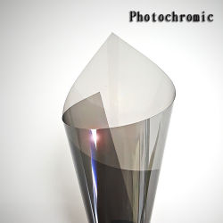 Película de Isolamento do carro que muda de cor de acordo com a intensidade de luz/tipo fotocrómico Film