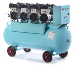 Luftverdichter der MCS-Shanghai ölfreier Maschinerie-50HP 3pH für Industrieprodukt-ölfreien Luftverdichter