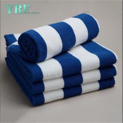 Luxe Long-Stable Premium Hotel & SPA Serviette de bain en coton bleu écologique défini
