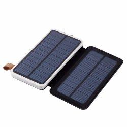 La Banca solare 30000mAh di potere 7W si raddoppia caricatore esterno di potenza della batteria del caricatore ricaricabile solare impermeabile del USB