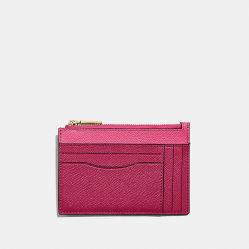 Contrast Color Fancy Saffiano PU Ladies Cardholder