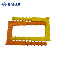 Scaletta di alluminio/galvanizzata del ferro di punto della botola del rivestimento della plastica pp Polypropylence dell'acciaio inossidabile del carbonio
