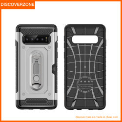 China Fornecedor Slot de cartão PC TPU Mobile/Celular caso com suporte para a Samsung S8 J2 J7