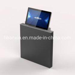 통합 디자인 데스크탑 모터 구동 팝업 LCD 모니터 리프트