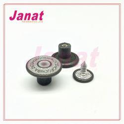В полной мере латунные 16мм джинсы кнопка с контактом из алюминия, покрытие цвет кнопки хвостовика для внесения удобрений, металлические кнопки хвостовика для внесения удобрений