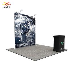 8FT 관례 삽화에 의하여 인쇄되는 알루미늄 관 프레임 전람 사진 부스