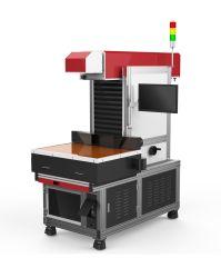 종이 절단 레이저 기계 600X600mm 800 * 800mm Galvo CO2 레이저 마킹 기계