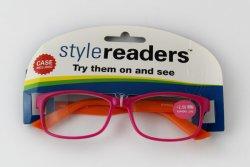 Colgador gafas de estante de tarjeta de Color para mostrar