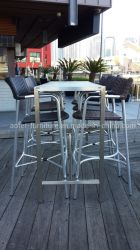 Street Bar patio jardin extérieur des meubles en rotin en osier