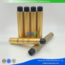 منتجات بلاستيكية خالية من الألومنيوم أنبوب التعبئة الذهبي