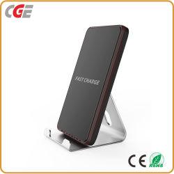 Портативное зарядное устройство для банка кронштейн подставка для беспроводной зарядки Samsung/LG/iPhone 8/X портативный источник питания банка