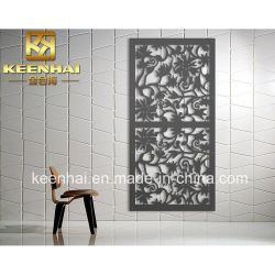 Laser geschnittene dekorative Edelstahl-Raum-Teiler-Wand