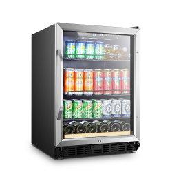 Низкая-E двойные стекло панели двери охладитель вина пить шкафа электроавтоматики