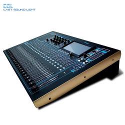 32 canaux mélangeur audio numérique de la console de mixage avec 24 l'entrée Mic la contrôlabilité de l'iPad