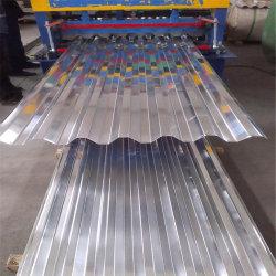 Alliage aluminium ondulé Roofing feuilles 3003 Type 750