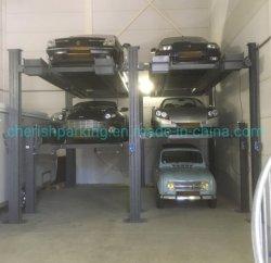 Stockage automatique Multi niveau du réceptacle de voiture triple système de stationnement de voiture
