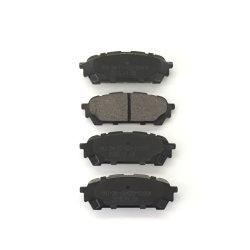 Selbstersatzteile der Bremsbelag-D1004 für Saab Subaru 26696-Fe050 Selbstzusatzgeräten-Rückseite