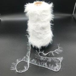 제조업체 1.3cm 13Nm 100% 나일론 팬시에서는 밍크 모발을 모방합니다 니팅 스카프용 원사