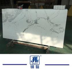 رخام Calacatte مصنوع من الرخام مع مشط ألومنيوم عسل / Ceramin/ Granite/ زجاج للجلاس / الأرضية