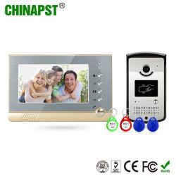 La fonction Carte Phototaking & ID sonnerie vidéo couleur d'appui (PST-VD07R-ID)