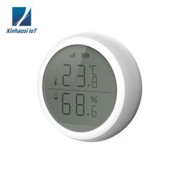 [Xinhaosi IOT] Zigbee inalámbrica interior Sensor de temperatura y humedad