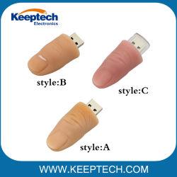 Lustiger Finger-menschliches Daumen USB-Blitz-Laufwerk 1GB 2GB 4GB 8GB 16GB 32GB
