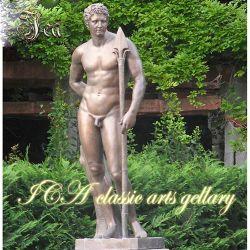 Venta caliente hombre desnudo de bronce de Lifesize en alta calidad