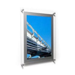 A3 facile la modification de l'image flottante Cadre Photo murale plexiglas acrylique