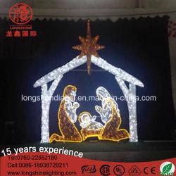 2017년 출생 구유 Scene Luces De Navidad 크리스마스 불빛