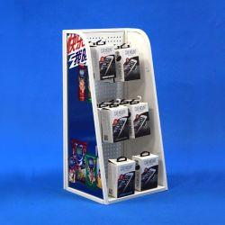 Promoción de la Tienda universal de la batería Pop Expositor metálico (PHD8008)