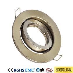 LED rotatif Downlight les raccords avec douille GU10