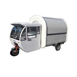 小さいMotorcycle3車輪の食糧販売のカートの食糧トラックのバイクは1匹の食糧トラックの移動式ホットドッグに付き2匹を供給する