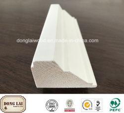 Le bois blanc de haute qualité en bois apprêté baguette de porte de compétitivité des prix Frame
