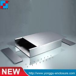 Ygs-033 de 270*56*235 mm (ancho x alto-L) Cuadro de extrusión personalizado para la carcasa de aluminio del convertidor de vídeo en red