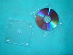 Claro claro la bandeja de DVD la bandeja de CD DVD CD la bandeja bandeja para 1 discos
