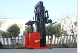 3м до 12 м 3 на три пути узкий проход Металлические полки хранения вна поддон для установки в стойку электрический погрузчик 1 тонн 1.5ton укладчика