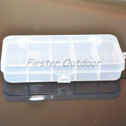 투명한 아BS 상자 Sttb01 13.1*6.7*2.3cm 5 격실 낚시 도구 상자