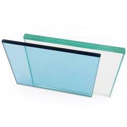 Feuille de verre feuilleté trempé de sécurité isolée porte fenêtre en verre pour le verre de construction