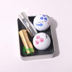 Terminais banhados a níquel personalizável bola de golfe carimbos com diferentes dos carimbos