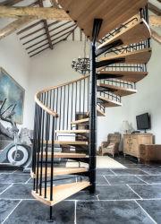 Для использования внутри помещений лестницы деревянные конструкции спиральную лестницу с металлическими деревянный поручень