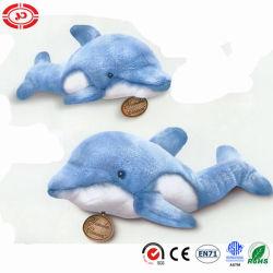 Peluche réaliste de l'océan bleu doux mignon Dolphin jouet en peluche moelleux