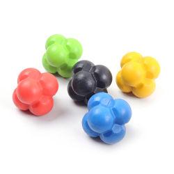 Esfera de reação de TPE coloridos para treinamento de agilidade