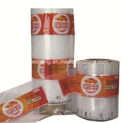 D'impression personnalisé Film d'emballage thermorétractable en PVC pour l'étiquette