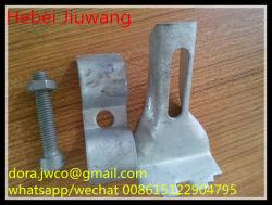 Galvanisierter Stahlvergitterung-Sattel