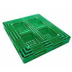 singolo pallet della plastica del corridore della superficie sei di 1400X1100mm