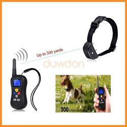 デジタル表示装置の感電のドッグカラーのトレーニングを吠えさせる無線LCD遠隔犬制御停止