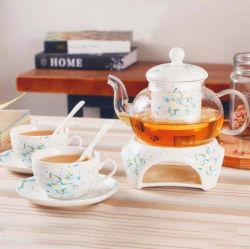 Insieme di tè di ceramica del pranzo della porcellana dell'insieme di caffè degli articoli per la tavola della porcellana