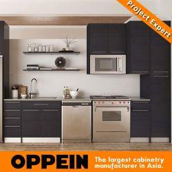 La présence de mélamine modulaire moderne des unités de gros de meubles de cuisine en bois (OP15-M12)