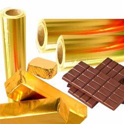 Sucre chocolat coloré Wrapping Paper bicarbonate de papier aluminium Aluminium Thé de bonbons d'enrubannage
